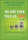 No One Ever Told Us That: Money and Life Lessons for Young Adults (1118992237) cover image