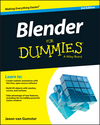 Blender For Dummies, 3rd Edition (1119047137) cover image