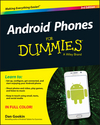 Android Phones For Dummies, 3rd Edition (1119126037) cover image