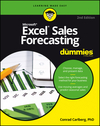 Excel Sales Forecasting For Dummies, 2nd Edition (1119291437) cover image