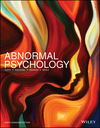 Abnormal Psychology, 6th Canadian Edition (1119335337) cover image