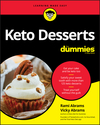 Keto Desserts For Dummies (1119696437) cover image