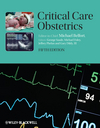 Critical Care Obstetrics, 5th Edition (1405152737) cover image