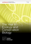 The Year in Ecology and Conservation Biology 2011, Volume 1223 (1573318337) cover image