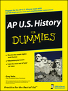 AP U.S. History For Dummies (0470391138) cover image