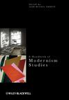 A Handbook of Modernism Studies (0470658738) cover image