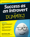 Success as an Introvert For Dummies (1118738438) cover image