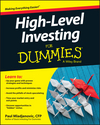 High Level Investing For Dummies (1119140838) cover image