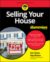 Selling Your House For Dummies (1119434238) cover image