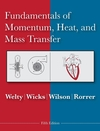 Fundamentals of Momentum, Heat and Mass Transfer, 5th Edition (EHEP000138) cover image