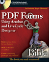 PDF Forms Using Acrobat and LiveCycle Designer Bible (0470478039) cover image