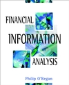 Financial Information Analysis (0471489239) cover image