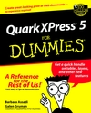QuarkXPress 5 For Dummies (0764506439) cover image