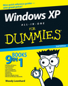Windows XP All-in-One Desk Reference For Dummies, 2nd Edition (0764574639) cover image