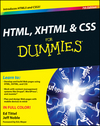 HTML, XHTML and CSS For Dummies, 7th Edition (1118015339) cover image
