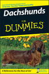 Dachshunds For Dummies, 2nd Edition (1118052439) cover image