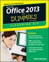 Office 2013 eLearning Kit For Dummies (1118490339) cover image