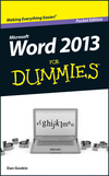 Word 2013 For Dummies, Pocket Edition