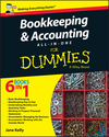Bookkeeping and Accounting All-in-One For Dummies - UK, UK Edition (1119026539) cover image