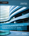 Mastering AutoCAD 2016 and AutoCAD LT 2016: Autodesk Official Press (1119044839) cover image