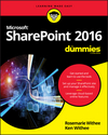 SharePoint 2016 For Dummies (1119181739) cover image