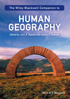 The Wiley-Blackwell Companion to Human Geography (1119250439) cover image