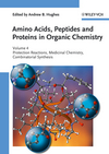thumbnail image: Amino Acids Peptides and Proteins in Organic Chemistry Volume 4 - Protection Reactions Medicinal Chemistry Combinatorial Synthesis