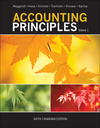 Accounting Principles, Sixth Canadian Edition Volume 1 (EHEP002739) cover image