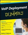VoIP Deployment For Dummies (047038543X) cover image