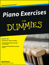Piano Exercises For Dummies (047045153X) cover image