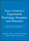 Stevens' Handbook of Experimental Psychology, Volume 1, Perception and Motivation, 2nd Edition (047104203X) cover image
