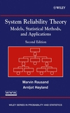 System Reliability Theory: Models, Statistical Methods, and Applications, 2nd Edition (047147133X) cover image