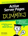 Active Server Pages For Dummies, 2nd Edition (076450603X) cover image