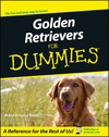 Golden Retrievers For Dummies (111805363X) cover image