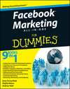 Facebook Marketing All-in-One For Dummies (111809543X) cover image