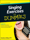 Singing Exercises For Dummies (111832823X) cover image