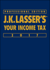 J.K. Lasser's Your Income Tax Professional Edition 2017 (111924823X) cover image