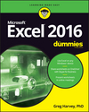 Excel 2016 For Dummies (111929343X) cover image