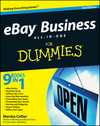 eBay Business All-in-One For Dummies, 2nd Edition (0470462140) cover image