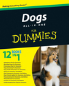 Dogs All-in-One For Dummies (0470635940) cover image