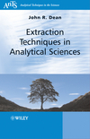 thumbnail image: Extraction Techniques in Analytical Sciences