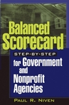 Balanced Scorecard Step-by-Step for Government and Nonprofit Agencies (0471475440) cover image