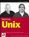 Beginning Unix (0764579940) cover image