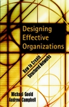 Designing Effective Organizations: How to Create Structured Networks (0787960640) cover image