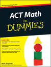 ACT Math For Dummies (1118001540) cover image