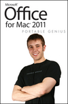Office for Mac 2011 Portable Genius (1118019040) cover image