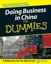 Doing Business in China For Dummies (1118050940) cover image