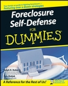 Foreclosure Self-Defense For Dummies (1118068440) cover image
