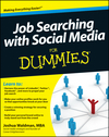 Job Searching with Social Media For Dummies (1118134540) cover image
