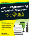 Java Programming for Android Developers For Dummies (1118612140) cover image